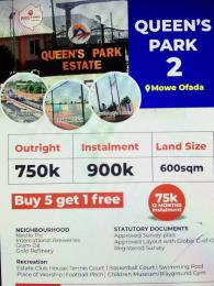 Serviced Residential Land Land for sale Mowe Ofada  Sagamu Sagamu Ogun
