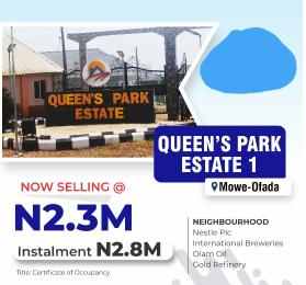 Mixed   Use Land Land for sale Mowe ofada,ogun state  Mowe Obafemi Owode Ogun