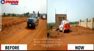 Serviced Residential Land Land for sale Pearl City Estate Ogbeke Nike  Enugu Enugu