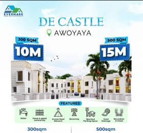Residential Land Land for sale De Castle In Oribanwa Bustop, 2mins Drive From Mayfair Gardens Awoyaya Ajah Lagos