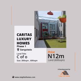 Residential Land Land for sale Caritas luxury phase 1 Sangotedo Ajah Lagos