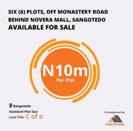 Residential Land Land for sale Off Monastery Road Behind Novera Mall Sangotedo Sangotedo Ajah Lagos