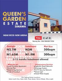 Serviced Residential Land Land for sale Simawa Mowe Obafemi Owode Ogun