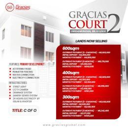 Residential Land Land for sale Gracias Court 2 origanringan  Okunraiye Ibeju-Lekki Lagos