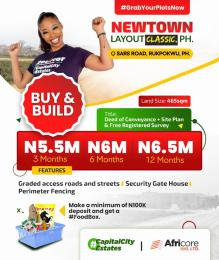 Residential Land Land for sale z Port Harcourt Rivers