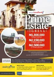 Land for sale Agbara-Igbesa Ogun