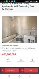 3 bedroom Boys Quarters Flat / Apartment for sale Chevron drive Lagos Island Lagos Island Lagos