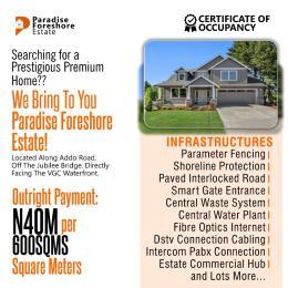 Mixed   Use Land for sale Paradise Foreshore Estate Lekki Palm City Estate Ado Ajah Lagos