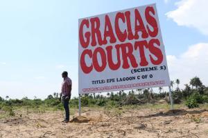 Serviced Residential Land Land for sale Okunraiye Ibeju-Lekki Lagos