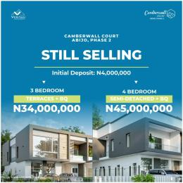 3 bedroom Terraced Duplex House for sale Inside Abijo GRA (the only GRA on the Lekki Epe Axis)  Abijo Ajah Lagos