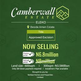 Mixed   Use Land Land for sale Eleko Road Besides Amen Estate Lekki Phase 2 Lekki Lagos