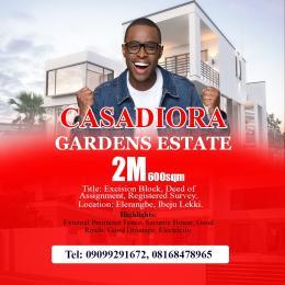 Residential Land Land for sale Mayinre Road, Onikonkon Town Eleranigbe Ibeju-Lekki Lagos