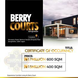 Commercial Land Land for sale Monastery road Sangotedo Lagos