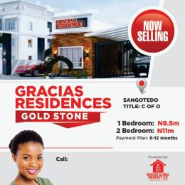 2 bedroom Shared Apartment Flat / Apartment for sale Off Monastery Road, behind Shoprite Babare Mall, Sàngotedo Monastery road Sangotedo Lagos