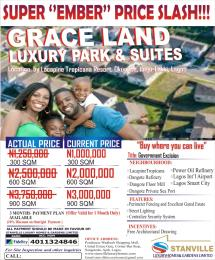 Residential Land Land for sale OKUN ISE TOWN OFF OAK LNG ROAD  BY LACAPINE TROPICANA RESORT IBEJU LEKKI  Ise town Ibeju-Lekki Lagos
