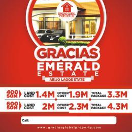 Residential Land Land for sale Gracias Emerald Estate  Abijo Ajah Lagos