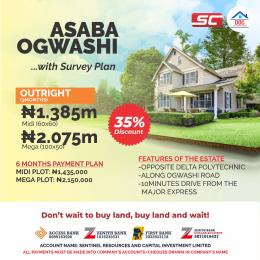 Residential Land Land for sale Opposite Delta Poly  Asaba Delta