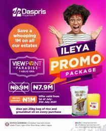 Residential Land Land for sale Viewpoint Paradise Estate Abijo Ajah Lagos