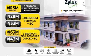 Terraced Bungalow House for sale Zylus Court  Extension Bogije Sangotedo Lagos