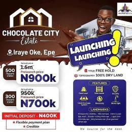 Residential Land for sale Iraye, Oke, Eredo Epe Lagos