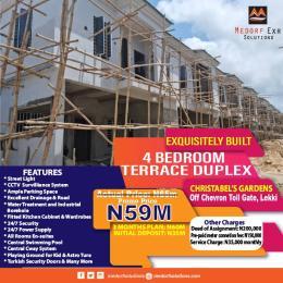 4 bedroom Terraced Duplex for sale Off Chevron Toll Gate, Lekki Lekki Lagos