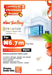 Residential Land Land for sale Frontier Estate Eluju Ibeju-Lekki Lagos