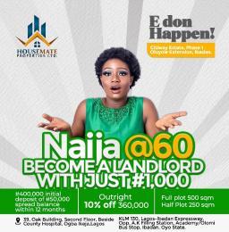 Residential Land Land for sale - Olomi Ibadan Oyo