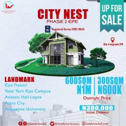 Residential Land for sale Odo Irangunshi Epe, Epe Lagos