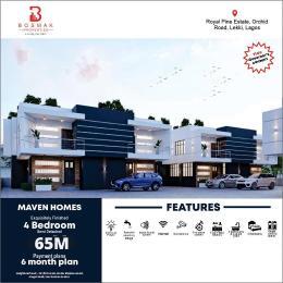 4 bedroom Semi Detached Duplex for sale Chevron Alternative By Orchid Road, Oral Estate Lekki Lagos