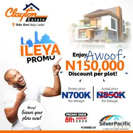 Residential Land Land for sale Ode-omi, free trade Zone, Ibeju-Lekki lagos Free Trade Zone Ibeju-Lekki Lagos