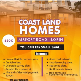 10 bedroom Mixed   Use Land Land for sale Off Airport road  Ilorin Kwara