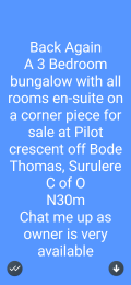 1 bedroom mini flat  Self Contain Flat / Apartment for rent Adekunle area Adekunle Yaba Lagos