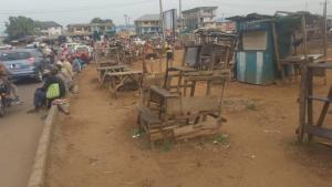 Commercial Land for sale Ojoo Facing Main Road Alakia Ibadan Oyo