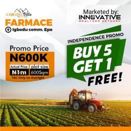 Commercial Land for sale Igbodu Community, Epe, Lagos Lagos Island Lagos Island Lagos