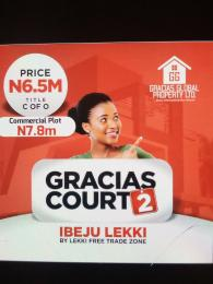 Mixed   Use Land Land for sale Facing the Major Lekki Free Trade Zone Road  Free Trade Zone Ibeju-Lekki Lagos