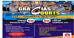 Office Space Commercial Property for sale Okunraiye Ibeju-Lekki Lagos