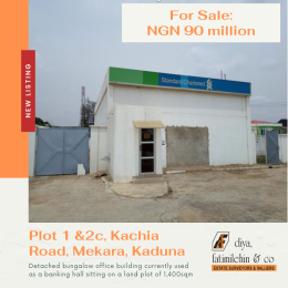 Office Space Commercial Property for sale Plot 1 and 2c Kachia Road, Mekara , Kaduna Kaduna South Kaduna