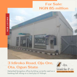 Office Space Commercial Property for sale 3 Idiroko Road, Oju Ore, Ota Ado Odo/Ota Ogun