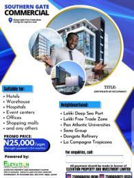 Commercial Land for sale Oshoroko Free Trade Zone Ibeju-Lekki Lagos