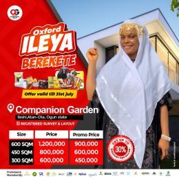 Residential Land Land for sale ileshi, Atan ota With registered Survey Ota GRA Ado Odo/Ota Ogun
