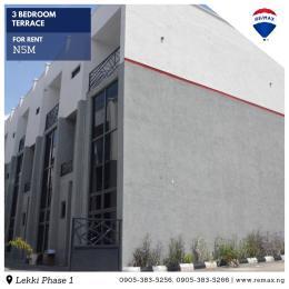 3 bedroom Terraced Duplex for rent D Lekki Phase 1 Lekki Lagos