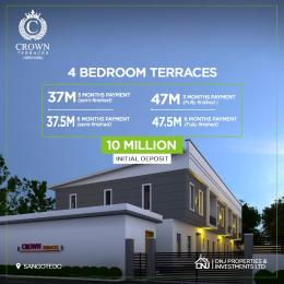 Terraced Duplex House for sale Inside Vintage Estate just Opposite Crown Estate  Sangotedo Ajah Lagos