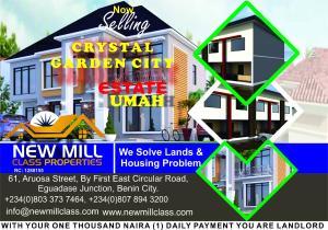 Mixed   Use Land Land for sale Estate Uhunmwonde Edo