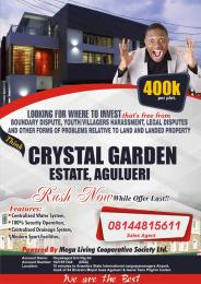 Residential Land Land for sale Crystal Garden Estate, Agulueri close to upcoming Anambra state airport Anambra East Anambra