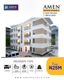 2 bedroom Blocks of Flats House for sale Eleko Junction, Amen Estate Phase 2 Eleko Ibeju-Lekki Lagos