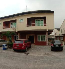 3 bedroom Terraced Duplex House for rent Lekki gardens estate 4 Lekki Gardens estate Ajah Lagos