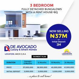 3 bedroom Semi Detached Duplex House for sale Majek Sangotedo Lagos