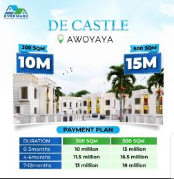 Residential Land for sale Oribanwa Bustop Awoyaya Ajah Lagos