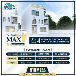 4 bedroom Detached Duplex for sale De Castle Max, Orchid Road Lekki Lagos