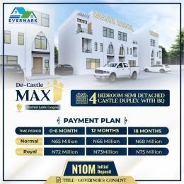 4 bedroom Semi Detached Duplex for sale De Castle Max, Orchid Road Lekki Lagos